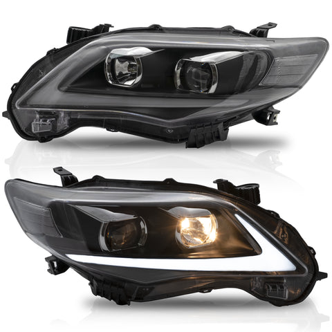 VLAND HEADLIGHT ASSEMBLY FIT FOR 2011-2013 Toyota COROLLA - VLAND