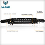 VLAND Headlights+Grille Assembly FIT FOR 2007-2014 Toyota FJ Cruiser,TWO COLORS - VLAND