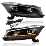 VLAND HEADLIGHT ASSEMBLY FIT FOR 2008-2012 Honda Accord