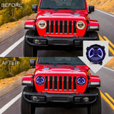 VLAND HEADLIGHT ASSEMBLY FIT FOR 2018-2019 Jeep Wrangler - VLAND