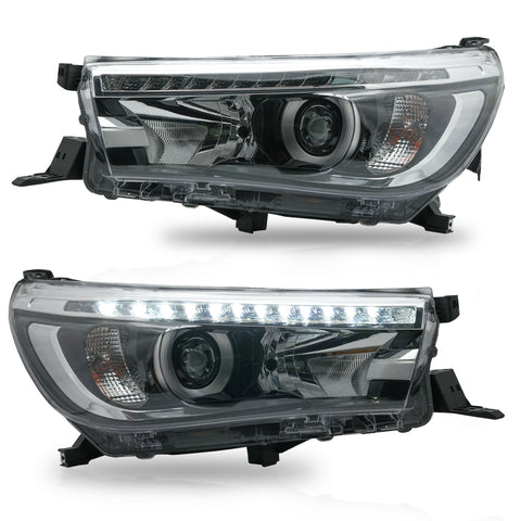VLAND HEADLIGHT ASSEMBLY FIT FOR 2016-2019 Toyota Hilux