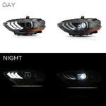 VLAND HEADLIGHT ASSEMBLY FIT FOR 2018-2020 Ford Mustang - VLAND