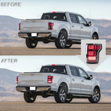 VLAND TAIL LIGHT ASSEMBLY FIT FOR 2015-2020 FORD F-150,TWO COLORS - VLAND