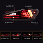 VLAND TAIL LIGHT ASSEMBLY FIT FOR Lexus 2006-2013 IS 250/350 Sedan 2008-2014 IS F , Two Colors - VLAND
