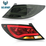 VLAND TAIL LIGHT ASSEMBLY FIT FOR 2012-2017 Hyundai Accent Sedan, Two Colors - VLAND