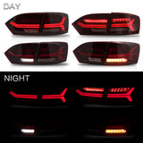 VLAND TAIL LIGHT ASSEMBLY FIT FOR 2011-2014 Volkswagen VW Jetta MK6 , Two Colors - VLAND