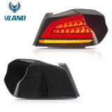VLAND TAIL LIGHT ASSEMBLY FIT FOR 2015-2019 Subaru WRX / STI, THREE COLORS - VLAND