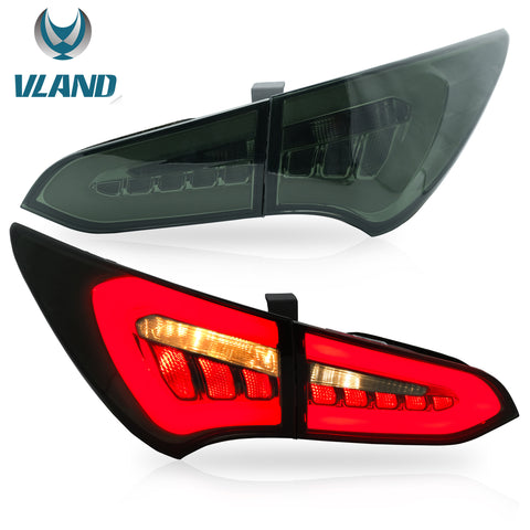 VLAND TAIL LIGHT ASSEMBLY FIT FOR 2013-2018 Hyundai Santa Fe Sport - VLAND