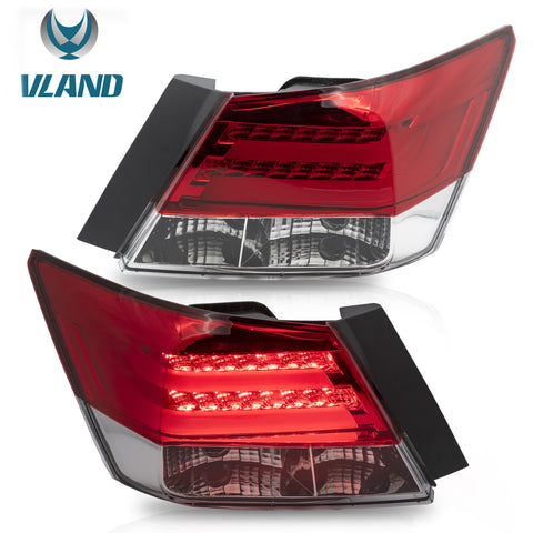 VLAND TAIL LIGHT ASSEMBLY FIT FOR 2008-2012 Honda Accord - VLAND