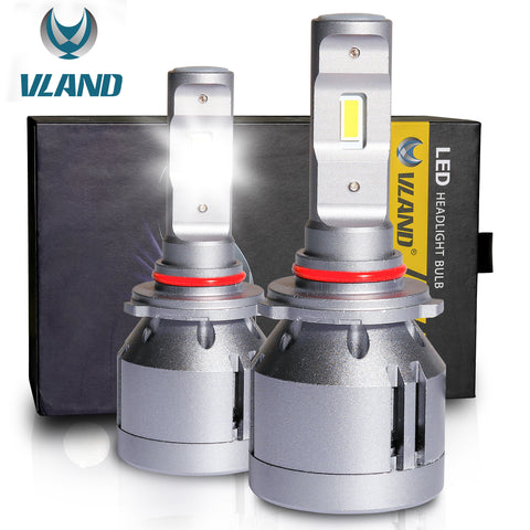 VLAND LED Headlight Bulbs 9005/HB3/9006/HB4 , 1 pair - VLAND
