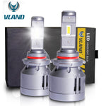 VLAND LED Headlight Bulbs 9012/HIR2 , 1 pair - VLAND