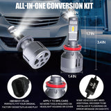 VLAND LED Headlight Bulbs H8/H11/H9 , 1 pair - VLAND