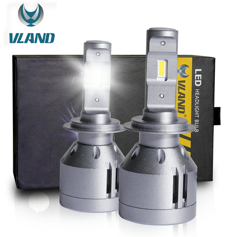 VLAND LED Headlight Bulbs H7 , 1 pair - VLAND