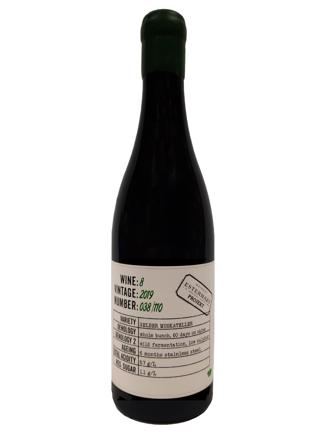 Esterházy - Projektwein No.8 Gelber Muskateller Whole Bunch 2019