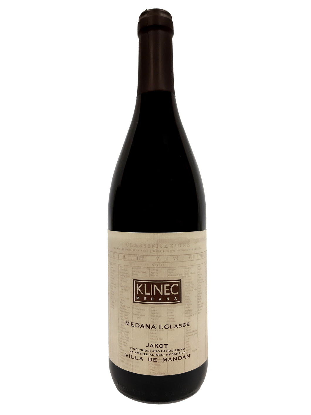 Klinec Medana - Jakot 2012 (Orange Wine)