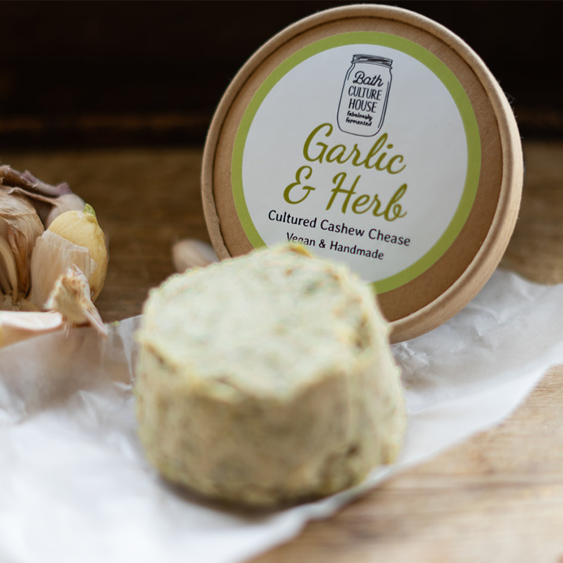 Bath Culture House Garlic and Herb Chease 120g