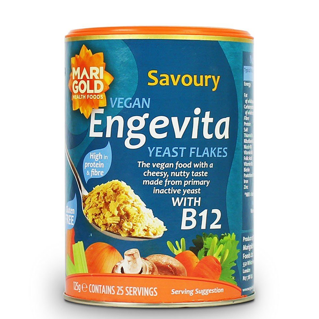 Engevita Nutritional Yeast Flakes with B12 125g
