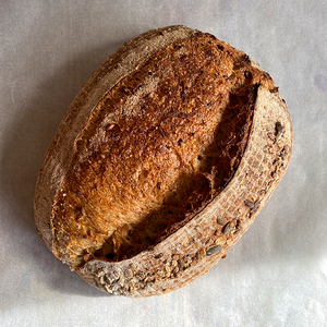 Multigrain Sourdough Loaf by The Snapery
