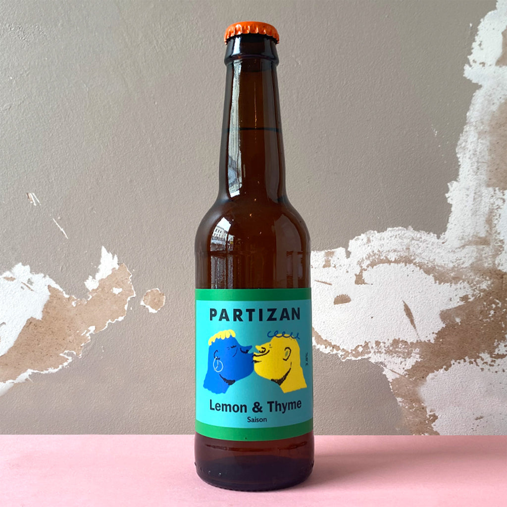 Partizan Lemon and Thyme - Saison 3.8%, 330ml