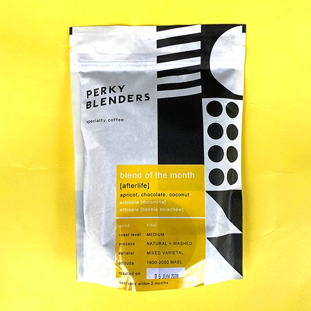 Perky Blenders Blend of the Month 250g Ground