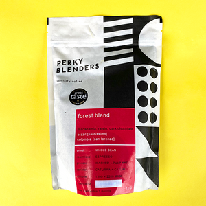 Perky Blenders Forest Blend 250g Ground