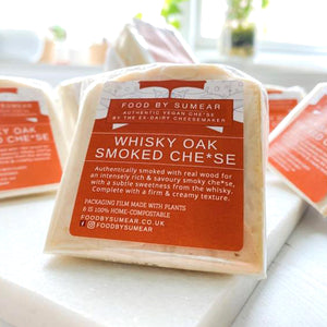 Food by Sumear Whisky Oak Wood Smoked Cheese 105g