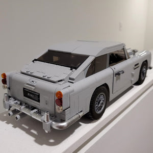 A Man's Past, Present and Future 007 Aston Martin DB5 Model Car