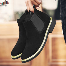 Load image into Gallery viewer, Rugged Suede Chelsea Boot
