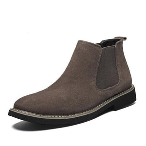 Rugged Suede Chelsea Boot