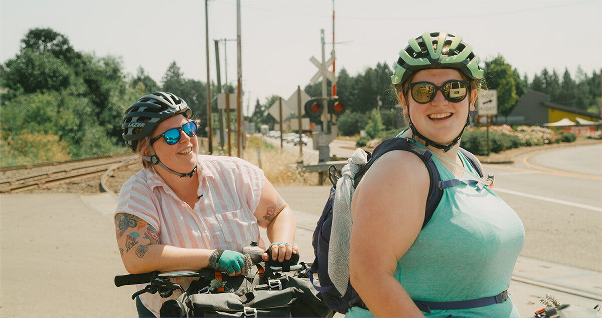 kailey and Marley Shimano Originals All Bodies on Bikes