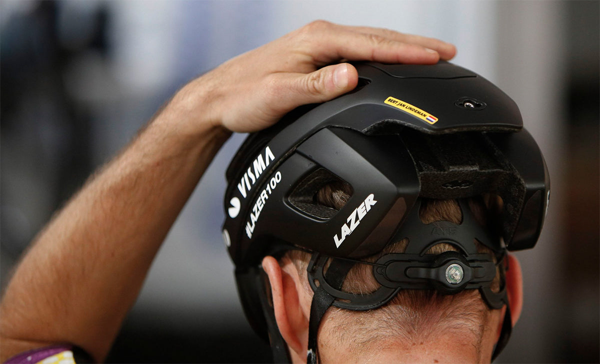 Lazer Sports bicycle helmets retention system provided the perfect fitting bicycle helmet