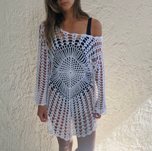 Load image into Gallery viewer, Crochet Dress+Coverup