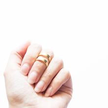 Brass Midi Ring