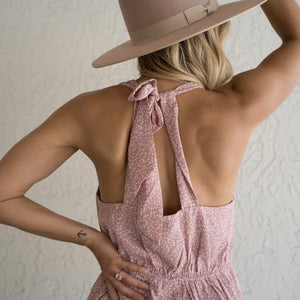 Tie Back Romper + Pockets