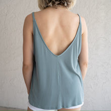 Load image into Gallery viewer, V-Neck Ribbed Tank Top