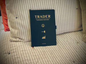 Leather Trading Journal trader
