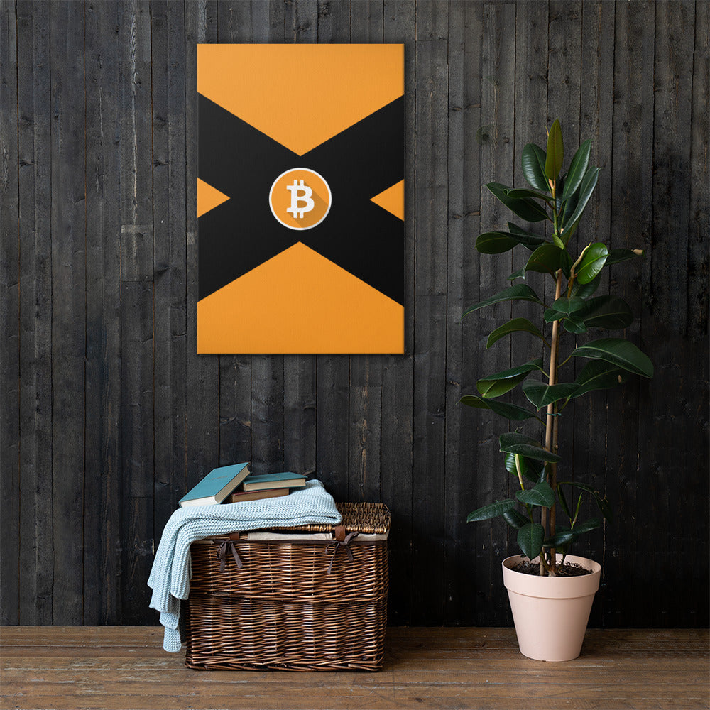 Premium Bitcoin Canvas