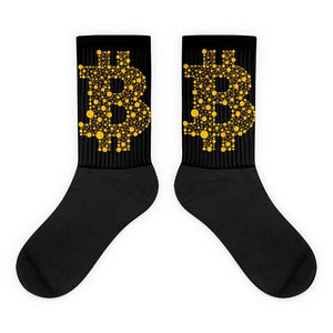 Cotton Bitcoin Socks