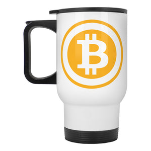 Bitcoin Stainless Steel Mug