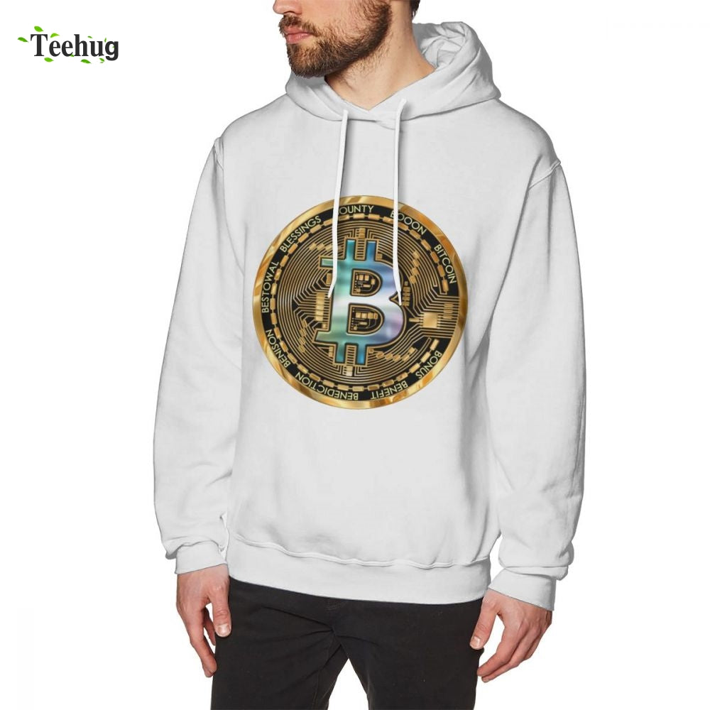 New Custom Printed Mens Hoodie