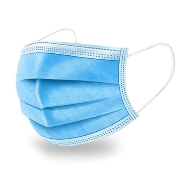 Disposable 3 Layer Mask | Standard EN14683, ISO13485, ISO10993 (Unit Price - €0.89 Sold Box 50 Masks)