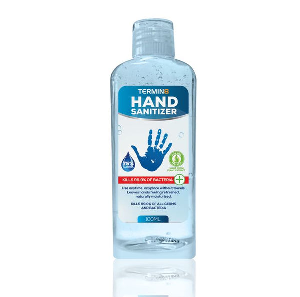 Hand Sanitiser Gel | 100ml Bottle | 75% Alcohol (Unit price €1.90 - Sold Box 25 Bottles)