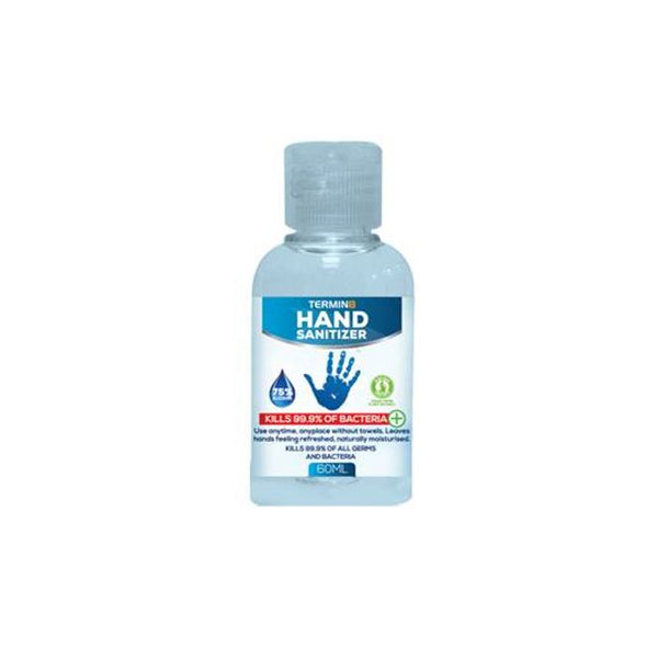 Hand Sanitiser Gel 60ml Pocket Size Bottle 75% Alcohol (Unit Price €1.10 Order by Box 25 Bottles)
