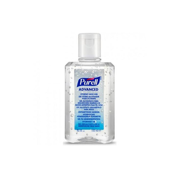 Purcell Hand Sanitiser Gel | 100ml Bottle | 70% Alcohol (Unit price €2.20 Sold Box 24 Bottles)