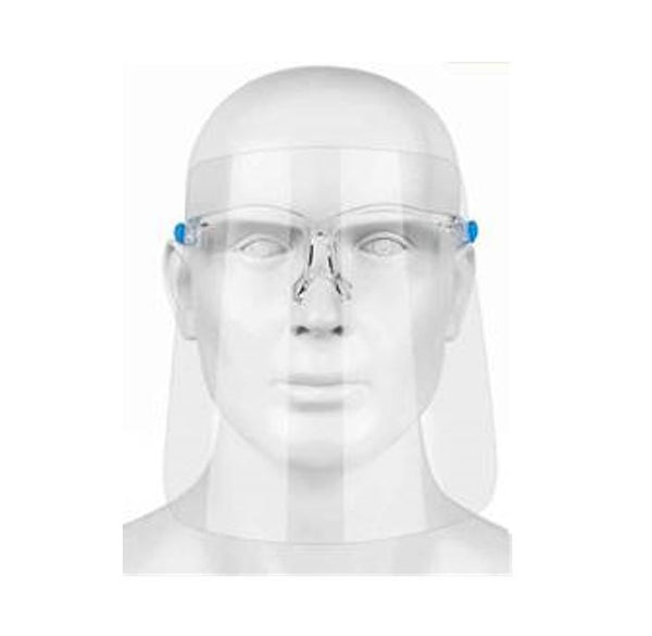 Clear Plastic Glasses Frame Visor (Unit price €3.80 - Sold Box 10)