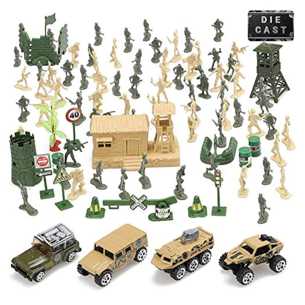 Plastic Army Men Toy Play Set