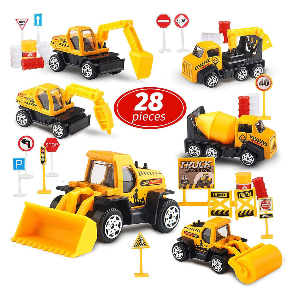 Small Construction Toy Trucks