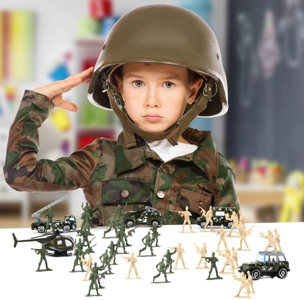 Plastic Army Men Toy Set