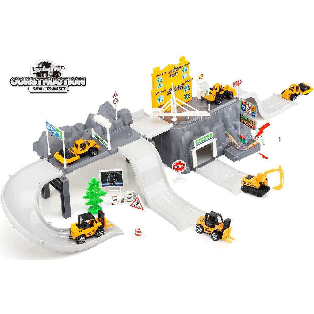 Die Cast Toy Trucks Set