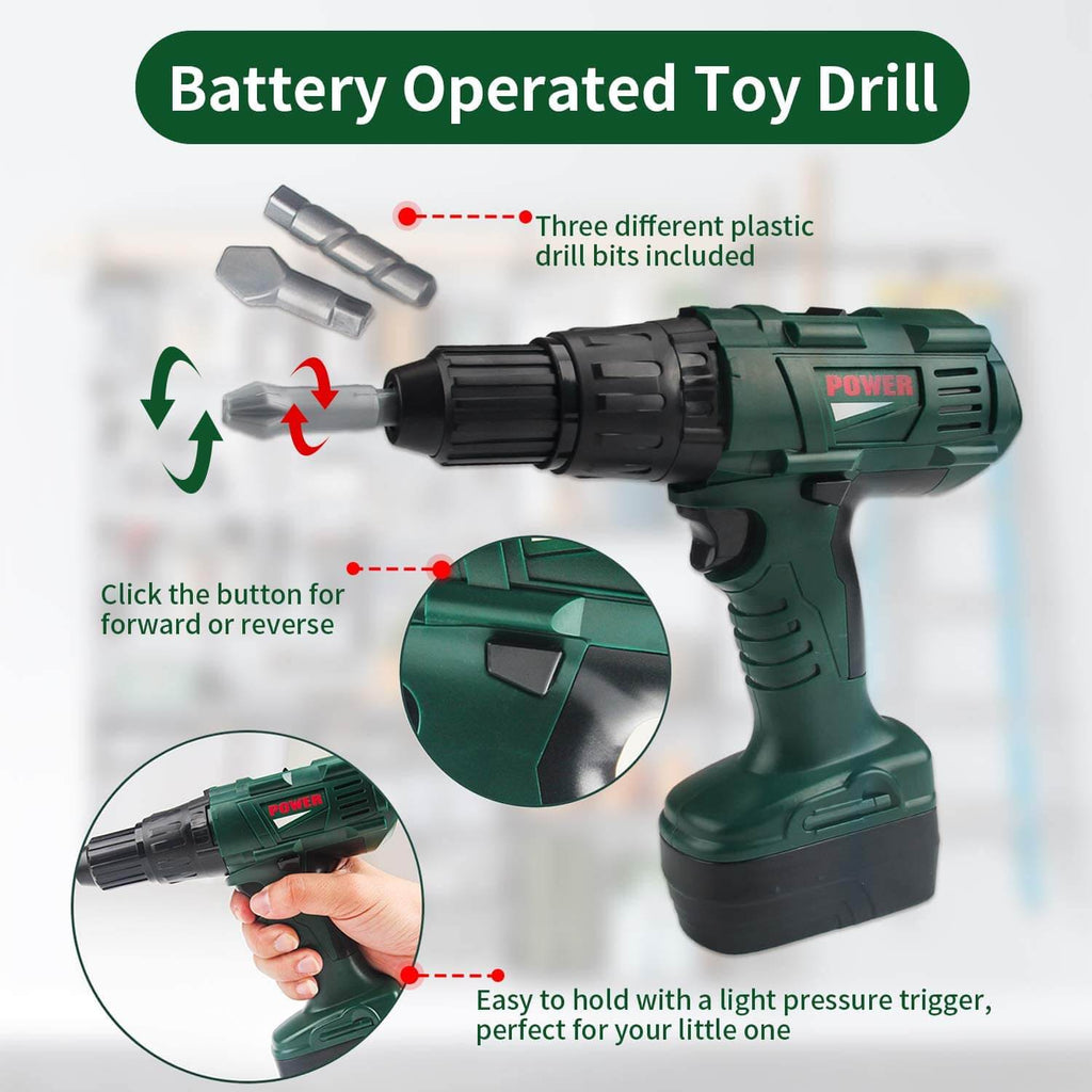 Battery Powered Toy Drill